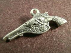 Vintage Sterling Silver 1940 3D Pistol Hand Gun Bracelet Charm Old | eBay 17