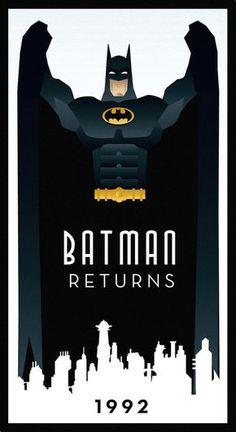 Batman Returns by Rodolfo Reyes Adam West Batman, Im Batman, Batman Art, Batman Stuff, Spiderman, Batgirl, Catwoman, Batman Returns 1992, Superman Story