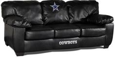 Dallas Cowboys NFL Classic Leather Sofa
