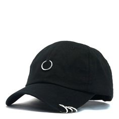 METAL RINGS BASEBALL CAP