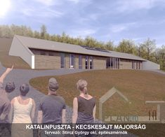 Katalinpuszta Kecskesajt majorság -  Planpro építésziroda referencia