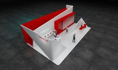 Oracle exhibition stand design idea