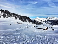 We were invited by London City Airport and Swiss Air to the ski resort of Villars - a favourite of A-listers but often overlooked by British skiers. London City Airport, Swiss Air, European Destination, Winter Landscape, Switzerland, Skiing, Ski Resorts, Mountains, Landscapes