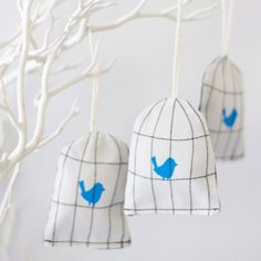 Sweet bird cage decorations