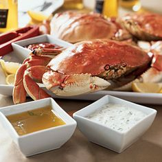 30 Mouth-Watering Crab Recipes   Boiled Dungeness Crabs with Fennel   CoastalLiving.com