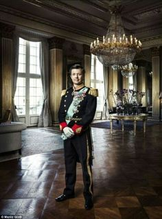 CP Frederik of Denmark in a new portrait. August 25 2016