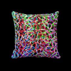 Swirl Magic by Valxart Throw Pillow   See Valxart.com or Zazzle ValxartGarden store at http://zazzle.com/valxartgarden*  or http://zazzle.com/valxart*
