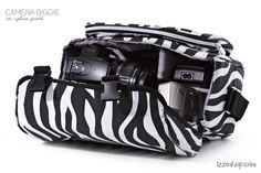 Zebra Print Camera Biggie