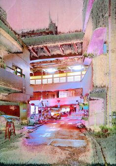 Jean-Vincent Simonet's psychedelic images of Tokyo – British Journal of Photography Psychedelic Experience, Psychedelic Art, Jean Vincent, Vincent Simone, A Level Art, Pretty Art, Art Boards, Cool Art, Contemporary Art