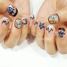 Space Nails by nail_camong