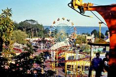 Rocky Point Park RI- growing up we had our own amusement park. It's closed now