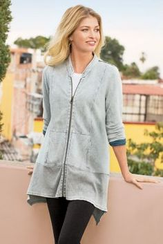 Cadie Jacket from Soft Surroundings