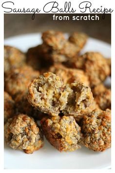 Sausage Balls Recipe from Scratch - It's Gravy, Baby!