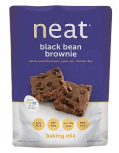 Neat Black Bean Brownie Mix enjoy plant-based brownies, made with the neat egg. Gluten-free, soy-free, non-gmo and healthy as they are delicious.