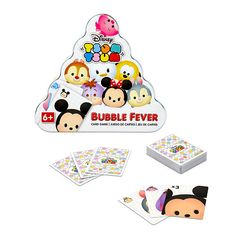 "Disney Tsum Tsum Bubble Fever Card Game - Wonder Forge - Toys ""R"" Us"