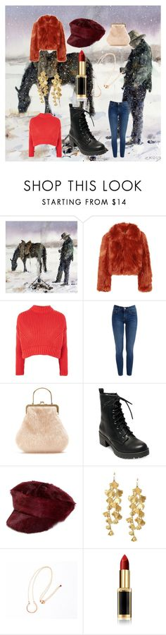 """""""Wonderful Winter"""" by jujubee-964 on Polyvore featuring Maison Margiela, Topshop, Shrimps, Madden Girl, Prada, Tory Burch, Agapantha and L'Oréal Paris"""
