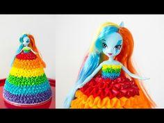 'Rainbow Dash' My Little Pony Doll Cake - CAKE STYLE - YouTube