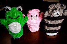 the three animals-crochet