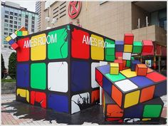 Rubik's Cube Sculpture
