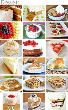 39 recipes to make your own Easter menu - 6 entrees, 15 sides, 18 desserts.
