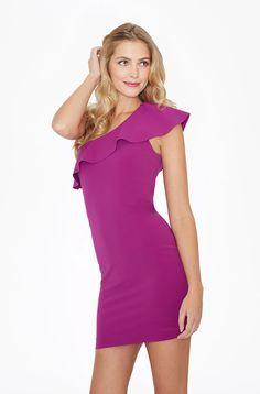 PARKER- Haiden Dress from high point of shoulder elastane dry clean only One Shoulder, Shoulder Dress, Dresses, Fashion, Vestidos, Moda, La Mode, Fasion, Dress