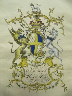 Arms of Osborne, Dukes of Leeds &c.