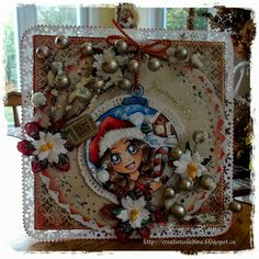 Handmade Christmas Cards (Scrapbooking) - Kenny K image - Happy Holiday