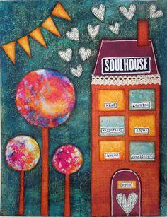 Inky Dinky Doodle: LifeBook Week 38/39: Soulhouse & Guardian Angel