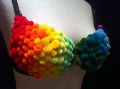 rainbow colour top