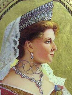 Tiara empress Alexandra (Russia)