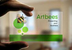 Bee-utiful business card