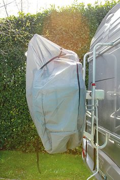 A completely enclosed zipped bike cover, this offers the best protection available for your bicycles. Resurfacing Kitchen Cabinets, Bike Cover, Tire Rack, Bicycle Rack, Interior Design Images, Jeep Patriot, Van Camping, Bike Storage, Roof Rack
