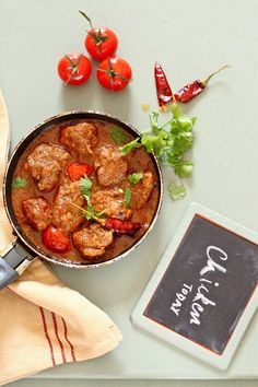 Plateful: Parsee Red Chicken Curry — Cozy up with a touch of spicy homemade Indian this weekend!