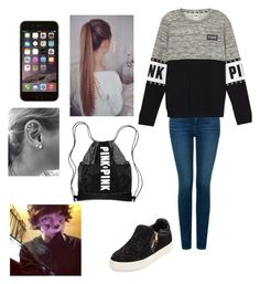 """""""Untitled #128"""" by burusa2 ❤ liked on Polyvore featuring beauty, NYDJ and Ash"""