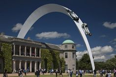 Gerry Judah, Mercedes-Benz Sculpture, Goodwood Festival of Speed 2014