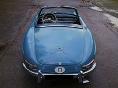 1961 Mercedes-Benz 350SL by Pinky and the Brain