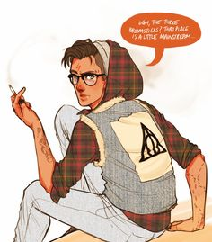 Fan Art: Your fav characters as hipsters. http://www.dorkly.com/post/70977/36-of-your-favorite-characters-as-hipsters