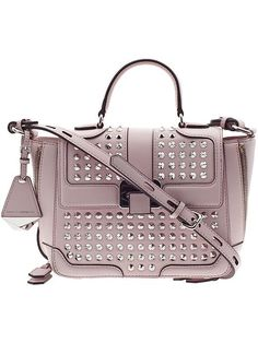 The Rebecca Minkoff Elle Mini in pale pink: great mini bag for spring.