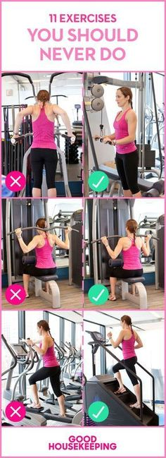 11 Exercises You Should Never Do