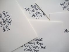 loving the writing on these Brown Envelopes, 7 And 7, Container, Writing, Canisters, Writing Process