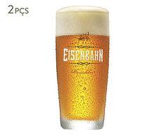 Jogo de Copos para Cerveja Eisenbahn Rauchbier