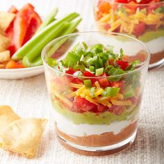 Mini Mexican Layered Dips 4 smartpoints