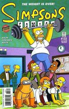 simpsons comic 133 | Simpsons Comics #133 - A Brand New Burns, Part Two! on Comic Collector ...