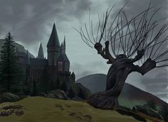 Harry Potter's Whomping Willow has a mind of its own. Description from blueforest.com. I searched for this on bing.com/images