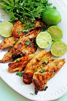 Grilled Tequila Lime Chicken Breasts ~ http://www.grandbaby-cakes.com