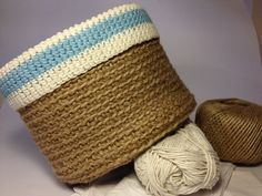 Inspiration:  Make Cat Bed From Twine/Rope With Cut-Out For Entry, Then Add Pillow/Doubled Up Crochet Circle (Fluffy Yarn) For Bottom