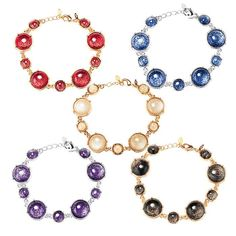 "Shimmering Bubbles Bracelet. Avon. 7"" L with 1"" extender. Regularly $9.99. NEW & NOW! FREE shipping with any $40 online Avon purchase. #CJTeam #Avon #Style #Sale #Jewelry #Fashion #Bracelet #Bubbles  #Gift #Christmas #StockingStuffer Shop Avon jewelry online @ www.thecjteam.com"