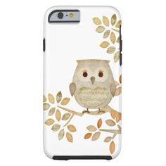 Musical Tree Owl iPhone 6 Case