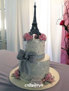 Weddbook ♥ boda en París con rosas de color rosa ...