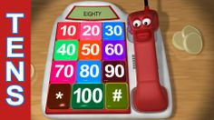 Count by Tens with the Counting Phone: Learn Numbers 10-100